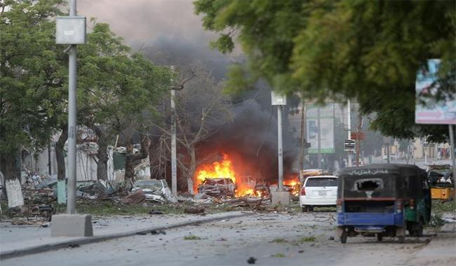 Two lawmakers among 15 dead in Mogadishu hotel attack