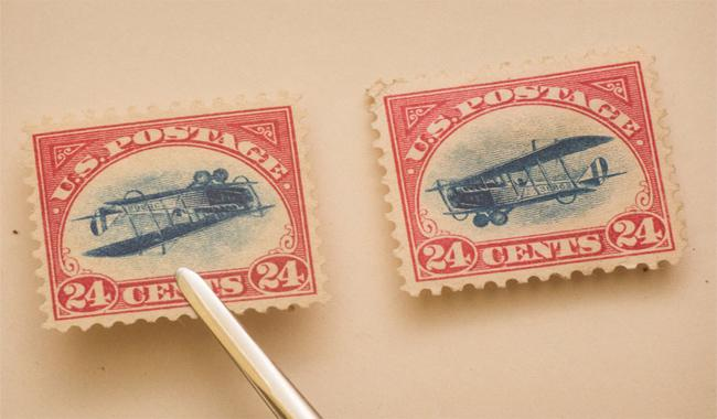 Precious US stamp found six decades after its theft