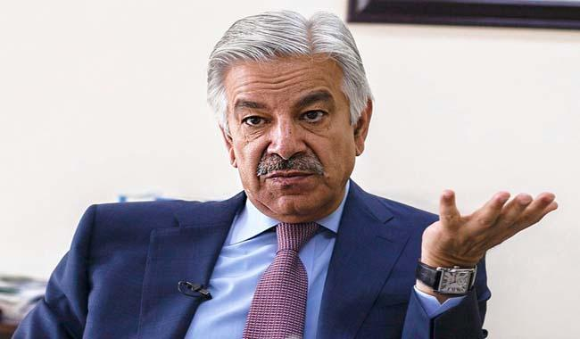 TTP enjoys support of Afghanistan, Khawaja Asif tells the Senate