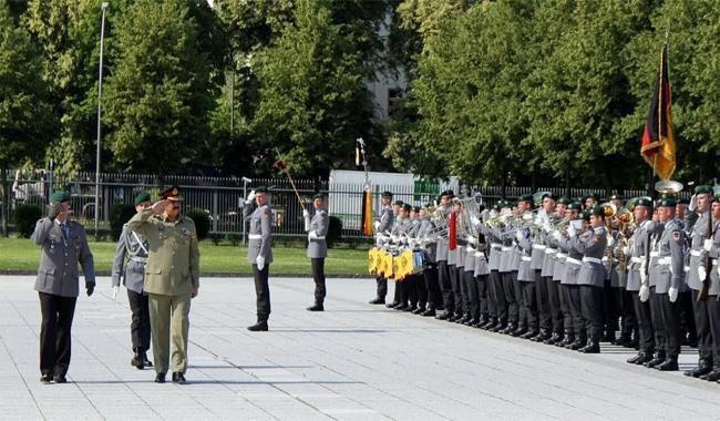 Germans show keen interest in learning from Pak Army's experience