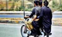 3-day ban on pillion riding in Karachi and Hyderabad