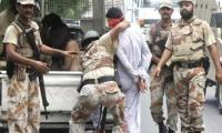 Rangers arrest 8 political workers in Dhabeji