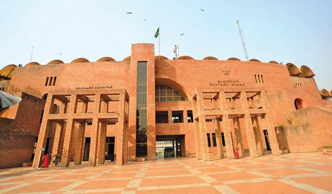 Najam Sethi for renaming Qaddafi stadium after Edhi.