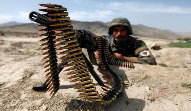Waste fears as Afghan soldiers cash in on spent ammo