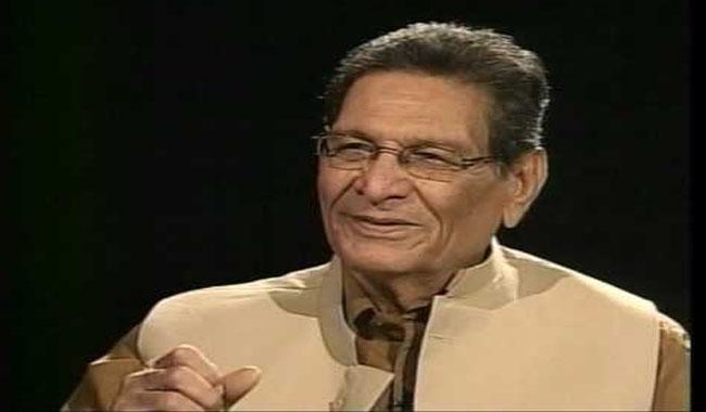 Senior politician Meraj Muhammad Khan passes away