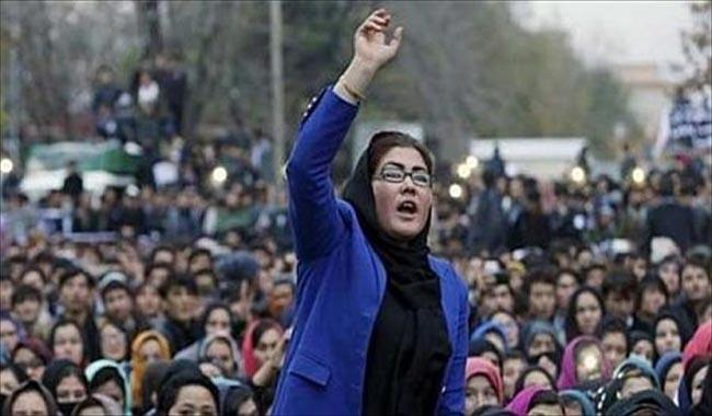 Kabul in lockdown as Hazaras rally over power line