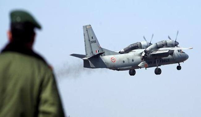 India searches for missing air force plane, no wreckage found