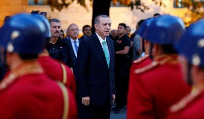 Turkey's Erdogan, using emergency decree, shuts private schools, charities, unions