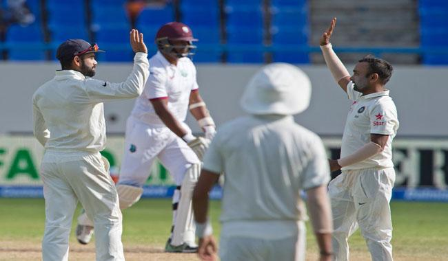 India beat West Indies by innings and 92 runs in first Test