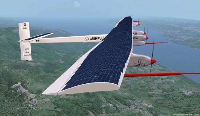 Solar plane nears end of historic round-the-world trip