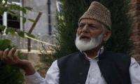 Ali Gilani, Mirwaiz, Malik extend strike call till July 29