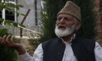 Indian police arrest Syed Ali Gilani in Srinagar