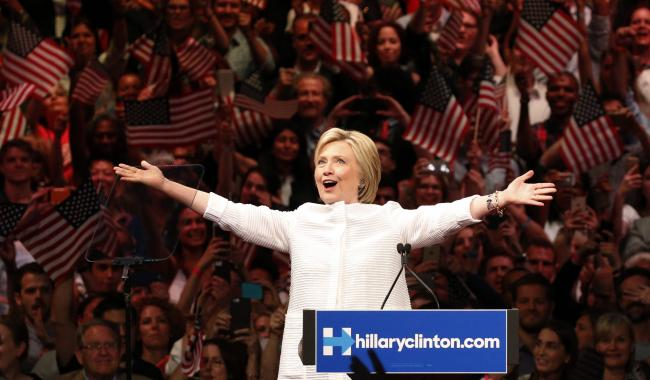 History made as Clinton secures US Democrats´ White House nomination