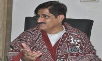 Murad Ali Shah voices desire to rule Sindh with consensus