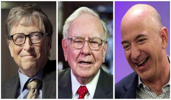Bezos passes Buffett, becomes third-richest person: Forbes