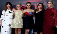 Mila Kunis, Kristen Bell celebrate motherhood at 'Bad Moms' premiere