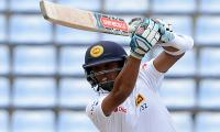 Sri Lanka 314-7 at lunch in rain-hit Aussie Test
