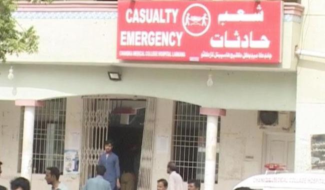 Rangers personnel killed, 14 injured in Larkana