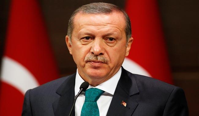 Erdogan says wants Turkey spy agency, chief of staff under his control