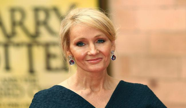 J.K. Rowling bids farewell to Harry Potter