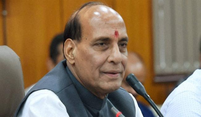 Indian media not allowed into SAARC meet venue: Rajnath Singh