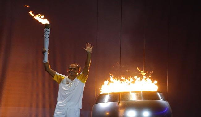 Olympic flame hero only told an hour before