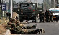 Indian army convoy ambushed in held Kashmir, three dead