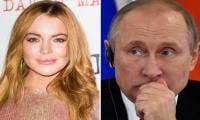 Lindsay Lohan wants to meet Putin, Russian TV host says
