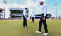 First test drawn as sodden outfield prevails at Kingsmead