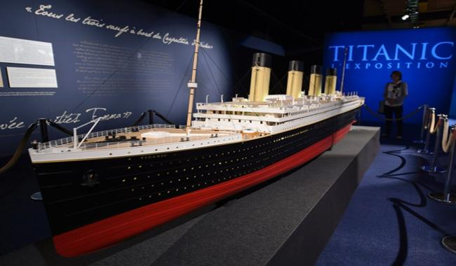 France sued over control of Titanic artifacts