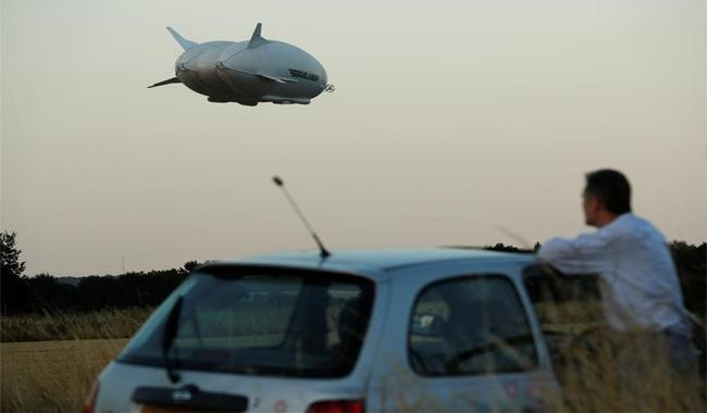 World's longest airship crashes in England on test flight