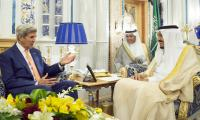 Kerry in Saudi talks on Yemen, Syria, Libya