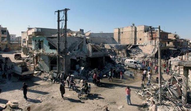 Barrel bombing kills 11 children in Syria´s Aleppo