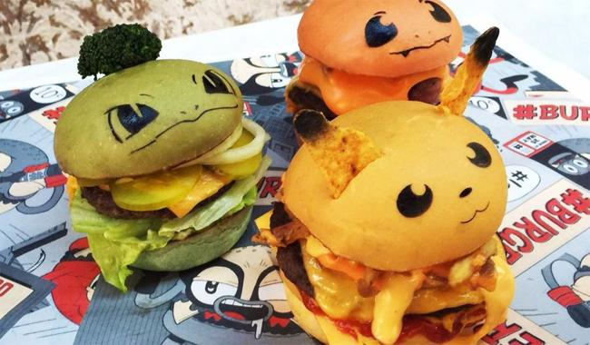 Eat them all! Sydney restaurant launches Pokemon burgers