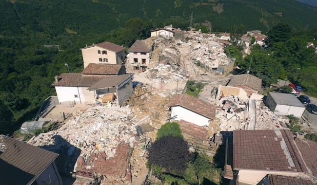 When death comes to stay: one Italian village´s story