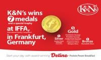 K&N's wins five gold medals at IFFA in Germany