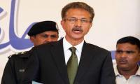 Waseem Akhtar takes oath as new Karachi mayor