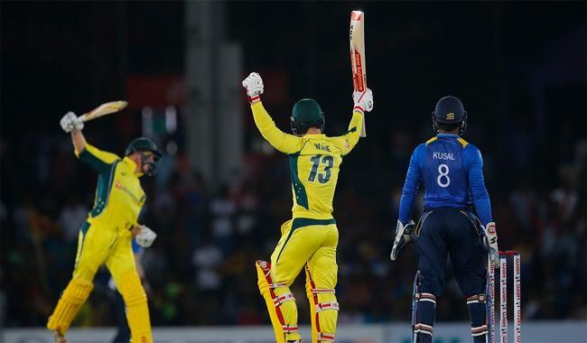Australia beat Sri Lanka, clinch ODI series