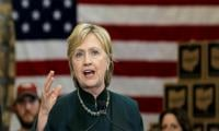 Clinton at peak unpopularity: poll