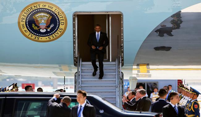 ´This is our country!´ says Chinese official as Obama lands
