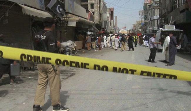 Roadside blast kills two cops in Quetta