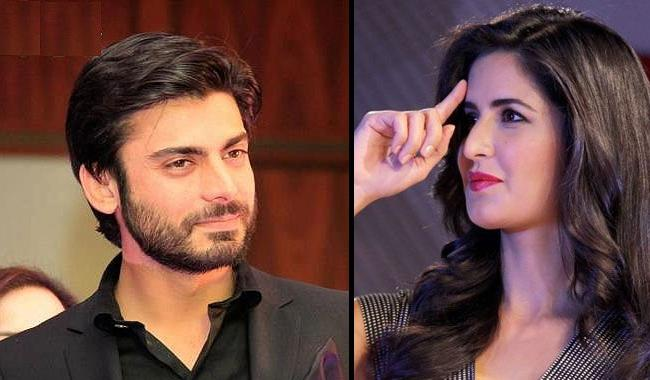 Fawad Khan signs film with bollywood beauty Katrina Kaif