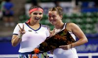 Sania-Barbora crowned women's doubles champions at Pan Pacific Open
