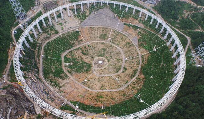 World´s largest radio telescope starts operating