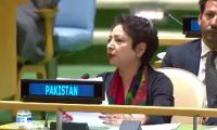Indian FM's UN speech a litany of falsehood: Maleeha Lodhi