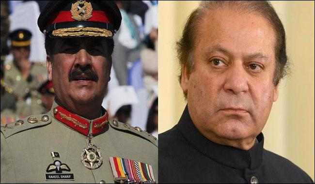 PM Nawaz, COAS Gen. Raheel discuss situation at LoC