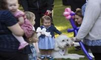 Princess Charlotte says first word in public on Canadian tour