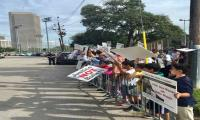 Protest in US city against Indian atrocities in Occupied Kashmir