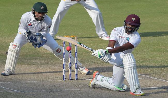 Ton-up Bravo thwarts Pakistan in day-night Test