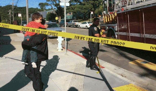 Four wounded in shooting outside San Francisco school
